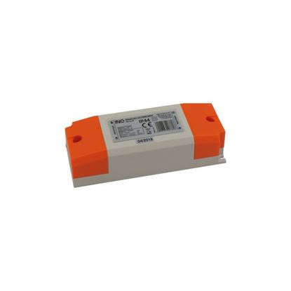 Zasilacz LED montażowy IP44 24W 2A  12V  DC-prąd stały INQ