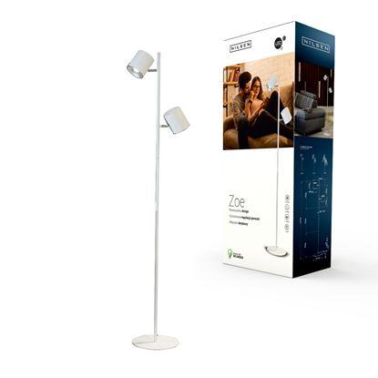 Lampa podłogowa LED ZOE FLOOR biała