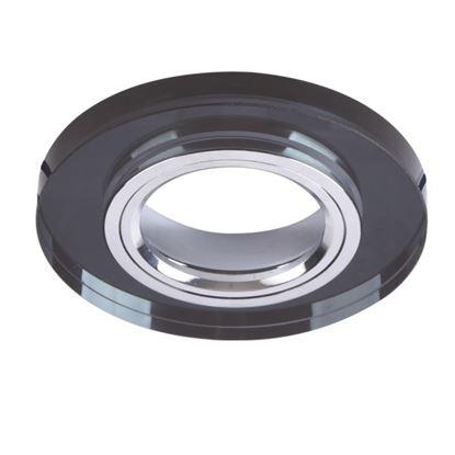 Oprawa OZZO VIDI 11G-B/CH okrągła czarna stała szkło