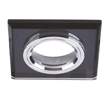 Oprawa OZZO VIDI 12G-B/CH kwadratowa czarna stała szkło