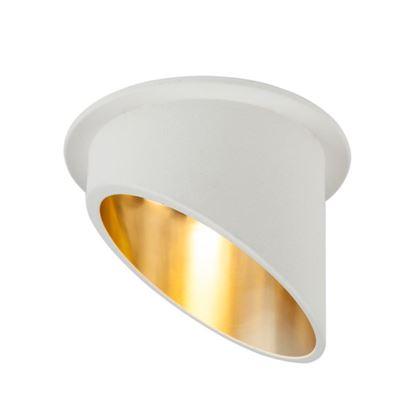 Oprawa OZZO VITA L 112-WH/G okragły pierścień IP20 biało-złoty
