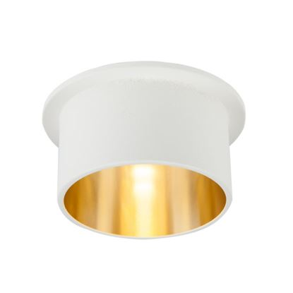 Oprawa OZZO VITA M 112-WH/G okragły pierścień IP20 biało-złoty