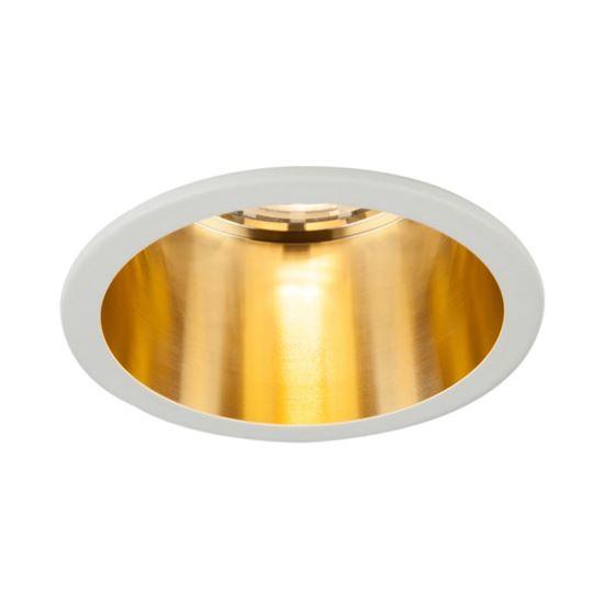 Oprawa OZZO Vita S 112-WH/G okragły pierścień IP20 biało-złoty
