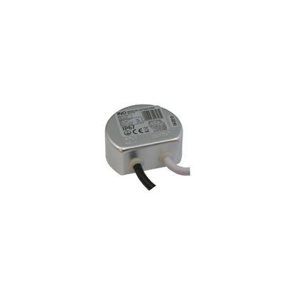 Zasilacz LED wodoodporny IP67  15W  1,25A  12V  DC-prąd stały do puszki INQ