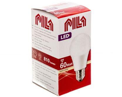 Żarówka LED E27 PILA (odpowiednik 60W) A60 WW FR ND 1CT/6  806lm 8727900964073