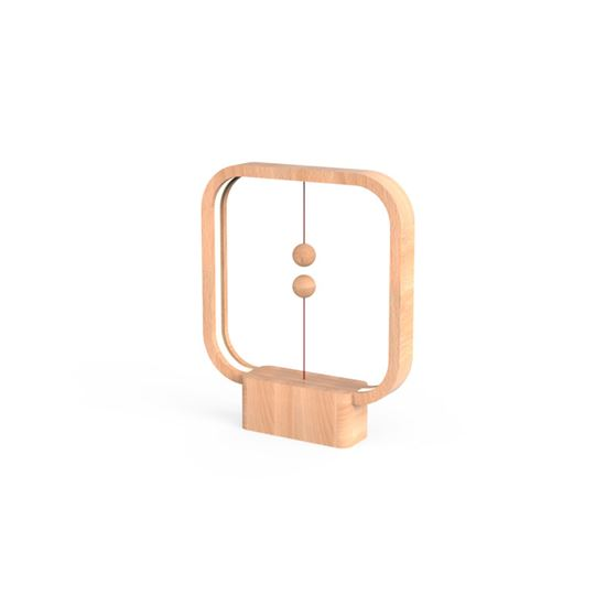 Lampa Heng Balance Lamp Square USB; LIGHT WOOD
