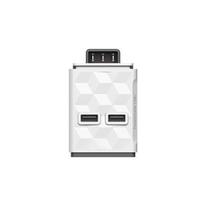 Moduł 2x USB do listwy zasilającej PowerStrip