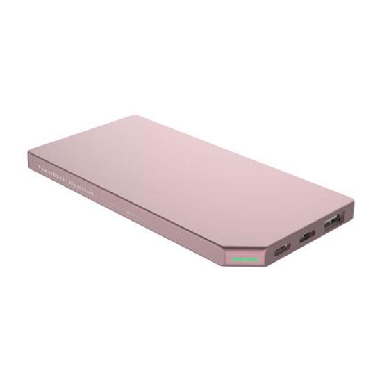 PowerBank Slim Aluminum 5000mAh; PINK