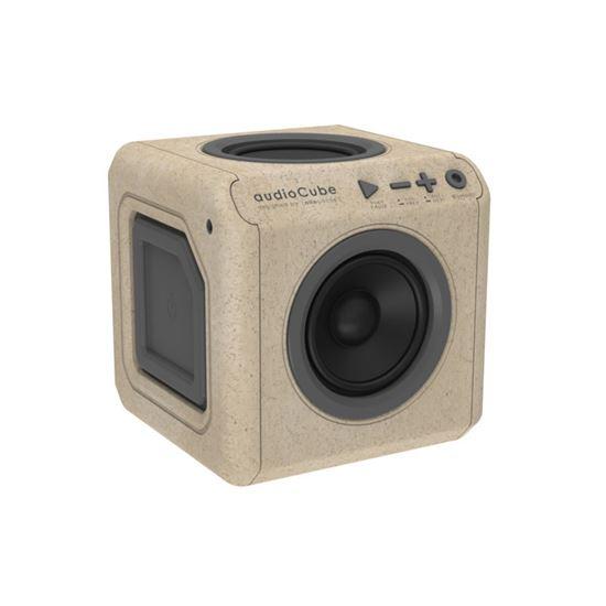 Głośnik przenośny audioCube Portable Wood Edition