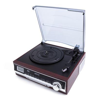 Gramofon z radiem i Bluetooth/MP3/USB/SD/Nagrywaniem CR 1168