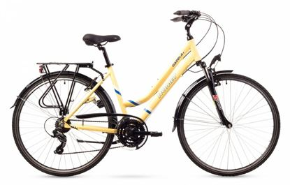 Rower Romet Gazela 1 (2016) kremowy 17''