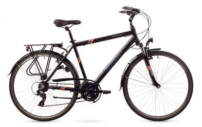 Rower Romet Wagant 1 (2016) czarno-pomarańczowy 19''