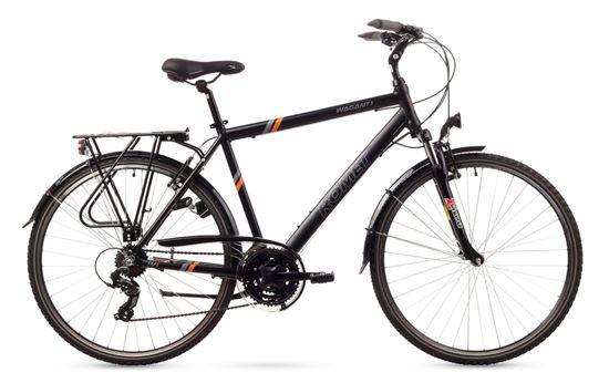 Rower Romet Wagant 1 (2016) czarno-pomarańczowy 21''