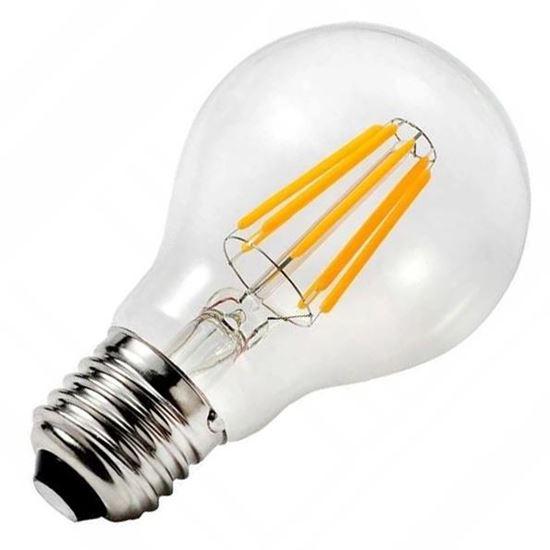 Żarówka LED E27 8W Filament A60