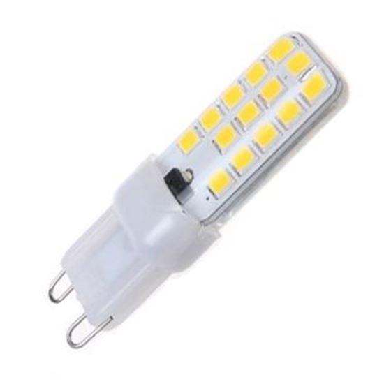 Żarówka LED G9 4W ściemnialna biała ciepła