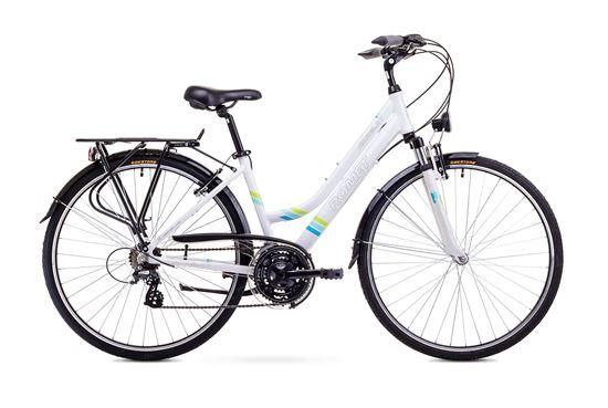 Rower Romet Gazela 1 (2018) biały 17''