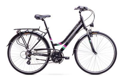 Rower Romet Gazela 1 (2018) czarny 17''