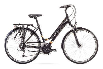 Rower Romet Gazela 4 (2018) czarny 17''