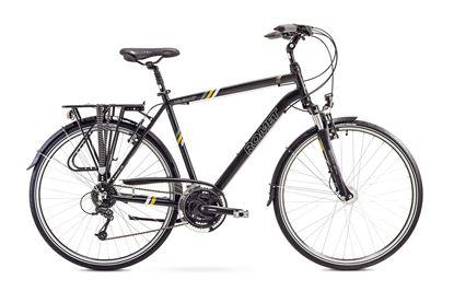 Rower Romet Wagant 4 (2018) czarno-żółty 19''