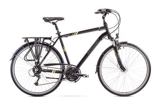 Rower Romet Wagant 4 (2018) czarno-żółty 21''
