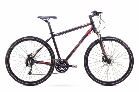 Rower Romet Orkan 3 M (2017) czarno-czerwony 21''