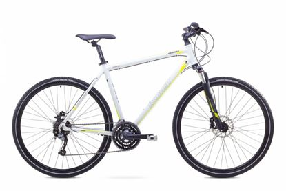 Rower Romet Orkan 3 M (2017) biało-zielony 19''
