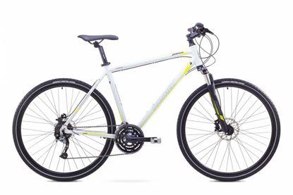 Rower Romet Orkan 3 M (2017) biało-zielony 21''