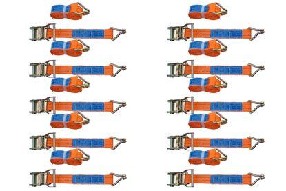 Zestaw 10x pasów transportowych z napinaczem 4M/35mm/2T