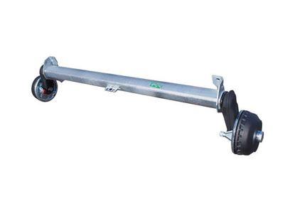 Oś hamowana do przyczepy AL-KO 1200 mm 1500 kg 5x112