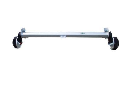 Oś hamowana do przyczepy AL-KO 1260 mm 1500 kg 5 x 112 mm