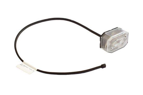 Lampa obrysowa do przyczepy Aspöck Flexipoint biały 0,5M/12V