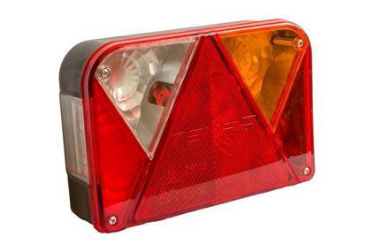 Lampa tylna zespolona do przyczep UNITRAILER DPT 35 prawa