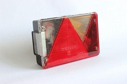 Lampa prawa tylna zespolona do przyczep Aspöck Multipoint IV