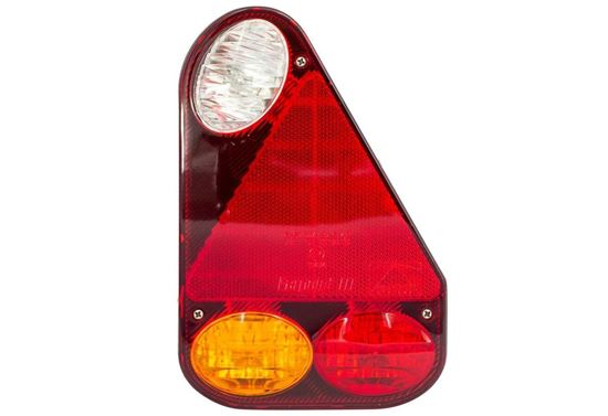 Lampa zespolona tylna Aspöck Earpoint III Prawa - 5-PIN
