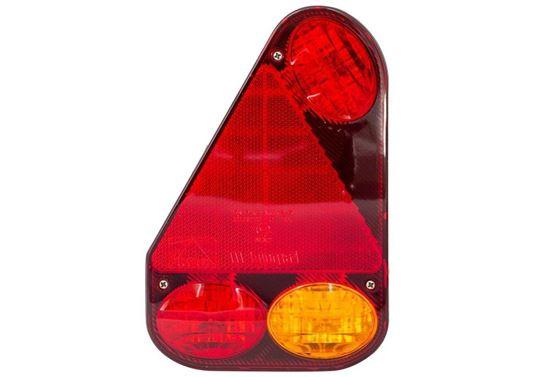 Lampa zespolona tylna Aspöck Earpoint III Lewa - 5-PIN