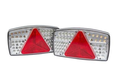 Zestaw: 2x Fabrilcar by Aspöck lampa tylna LED 7-funkcyjna prawa+lewa