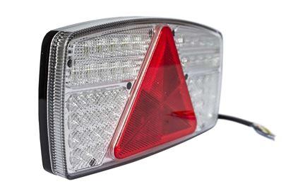Fabrilcar by Aspöck lampa tylna LED 7-funkcyjna lewa