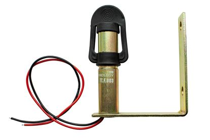 Trzpień trzon uchwyt koguta lampy boczny prosty na otwór