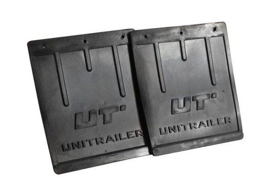 Zestaw: Dwa chlapacze gumowe duże Unitrailer do przyczepki