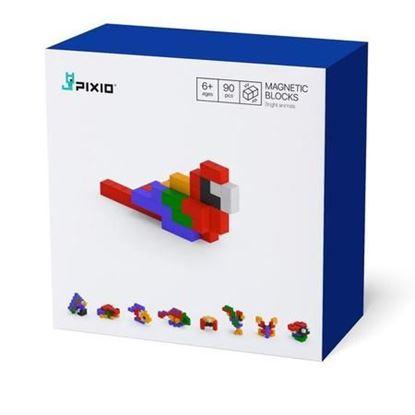 Pixio - Klocki Magnetyczne Bright Animals