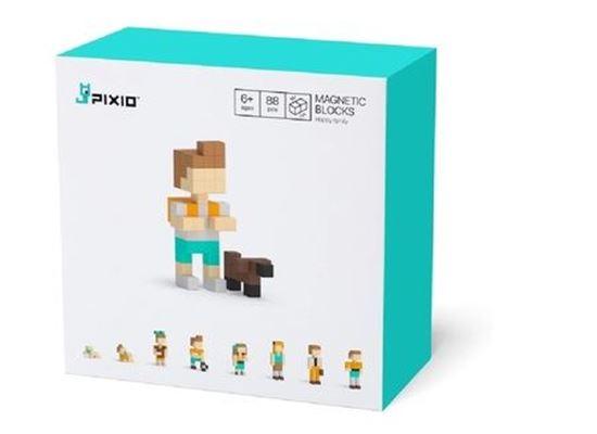 Pixio - Klocki Magnetyczne Happy Family