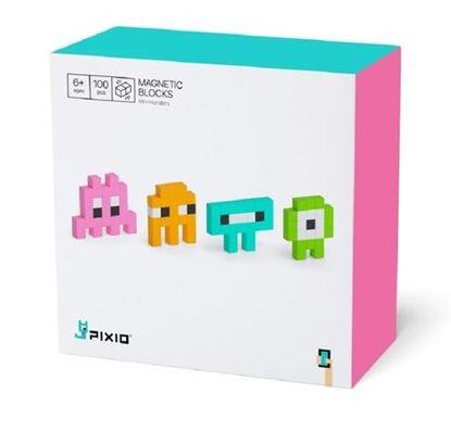 Pixio - Klocki Magnetyczne Mini Monsters
