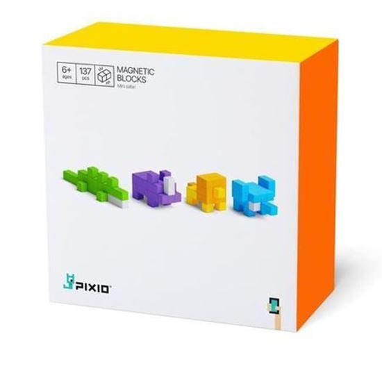 Pixio - Klocki Magnetyczne Mini Safari