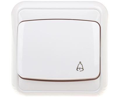 COSMO Przycisk /dzwonek/ biały 300404