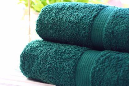 Zestaw ręczników LUXOR- ciemny zielony