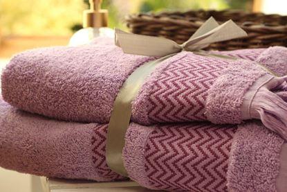 Ręcznik lawendowy komplet 2 sztuki