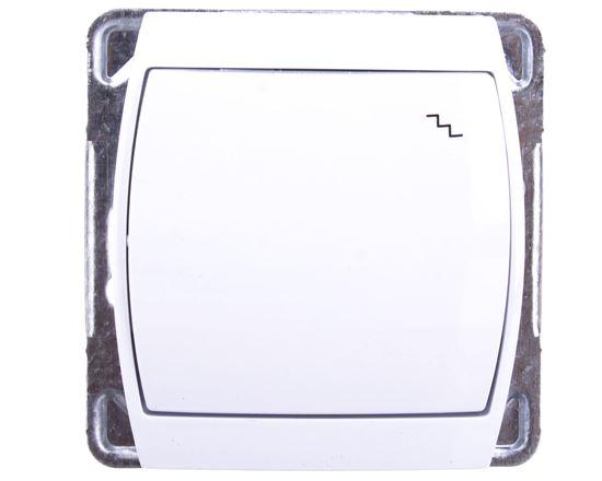 GAZELA Łącznik schodowy biały ŁP-3J/m/00