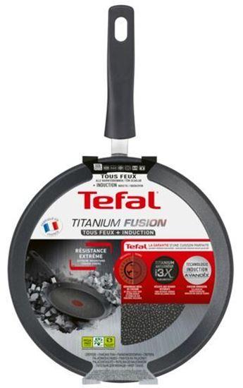 Patelnia naleśnikowa Tefal Titanium Fusion 25 cm