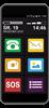 Smartfon dla Seniora MAXCOM SMART MS553 FS LTE SOS