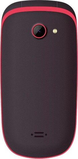 Telefon dla seniora MAXCOM Comfort MM 818 Czarno-czerwony